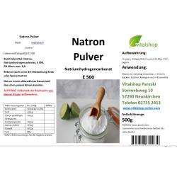 Natron 500g