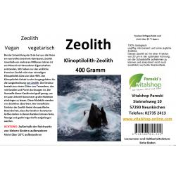 Zeolith-Mineralien...